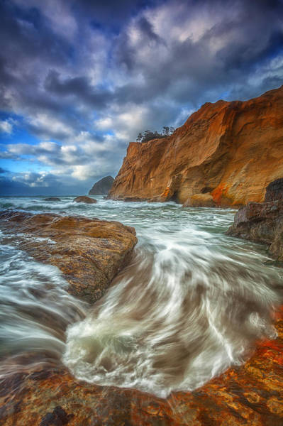 Photograph - Sweeping Tides by Darren  White