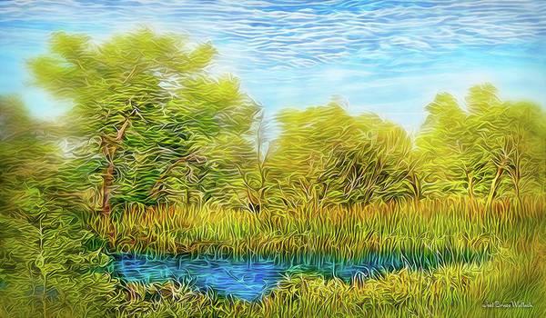 Digital Art - Sweet Afternoon Breeze by Joel Bruce Wallach