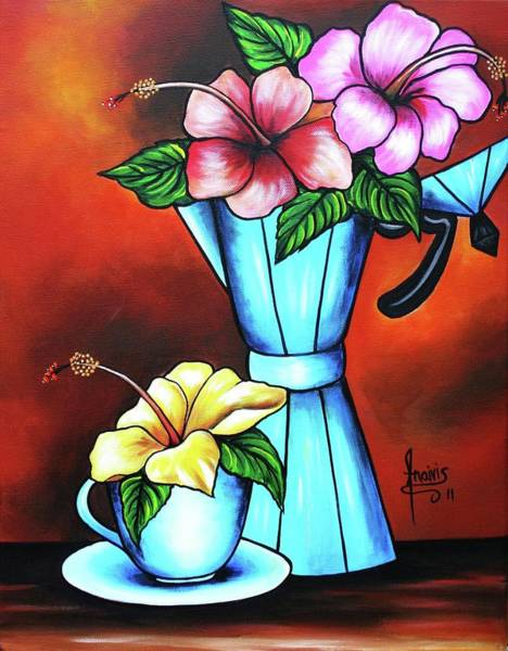 Wall Art - Painting - Sweet Aroma by Annie Maxwell