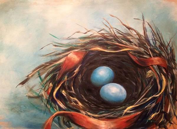 Wall Art - Painting - Sweet Beginnings by Pennie Strople