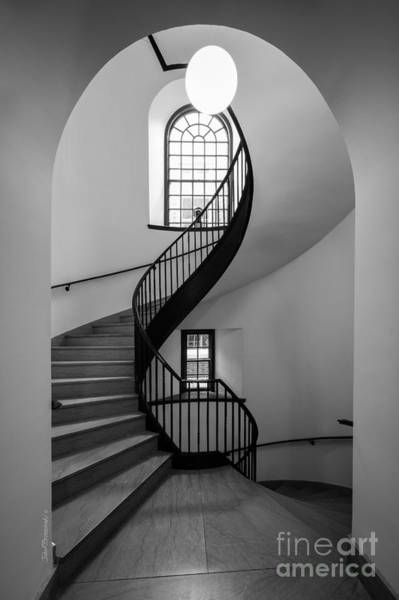 Photograph - Sweet Briar College Cochran Library Stairwell by University Icons