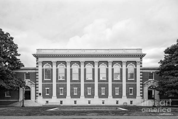 Photograph - Sweet Briar College Cochran Library by University Icons