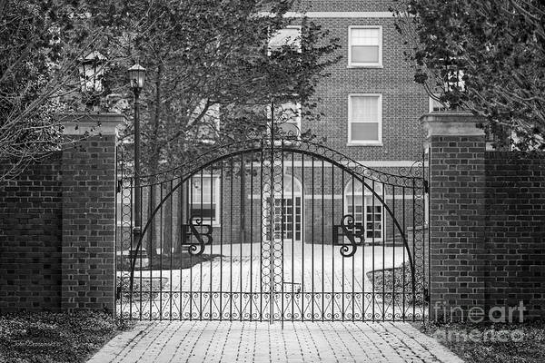 Photograph - Sweet Briar College Gate by University Icons