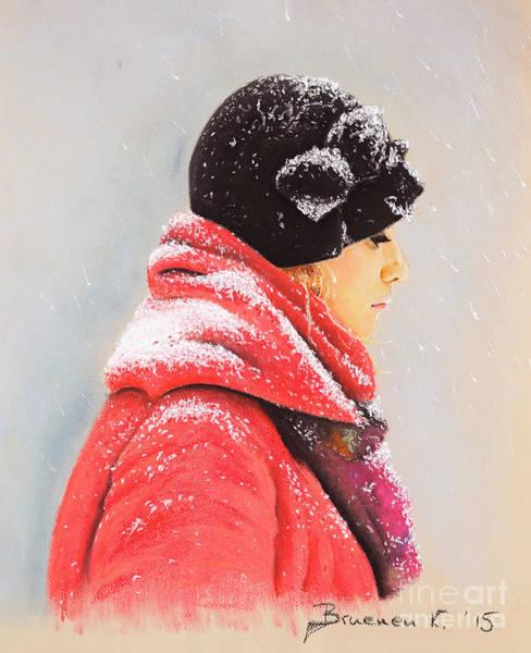 Wall Art - Pastel - Sweet Caroline by Katharina Filus