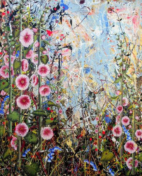 Wall Art - Painting - Sweet Chaos by Angie Wright
