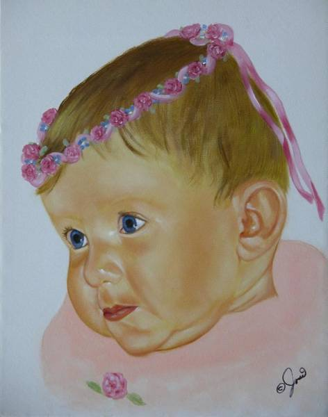 Painting - Sweet Child by Joni McPherson