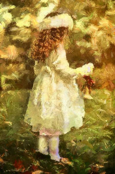 Happiness Mixed Media - Sweet Child Of Innocent Joy by Isabella Howard