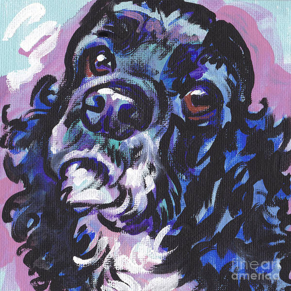 Cocker Spaniel Painting - Sweet Cocker by Lea S