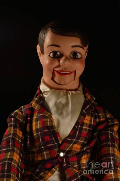 Chucky Wall Art - Photograph - Danny O'day Ventriloquist Dummy by D S Images