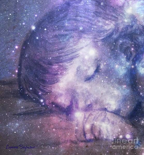 Divine Love Mixed Media - Sweet Dreams by Leanne Seymour