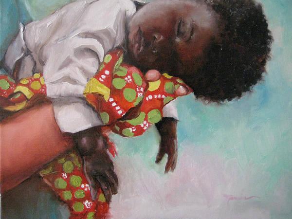 Uganda Painting - Sweet Dreams by Marcia Hodges