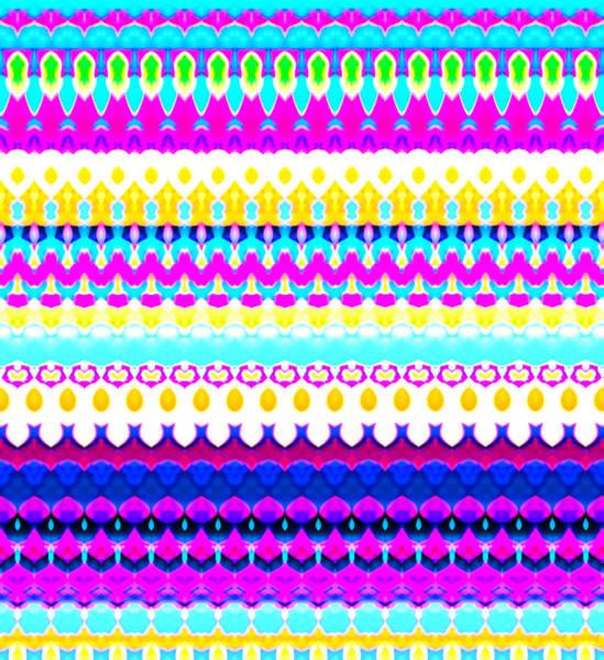 Trippy Wall Art - Digital Art - Sweet Dreams Stripe by Robyn Parker
