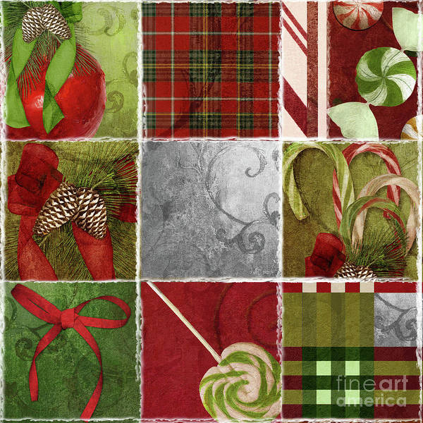 Pine Cones Painting - Sweet Holiday IIi by Mindy Sommers