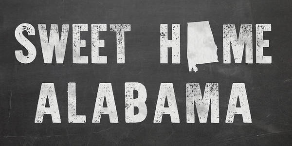 Sweet Home Alabama Art Print