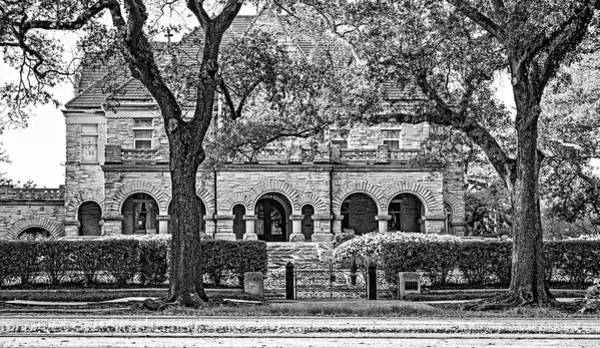 Charles Mansion Photograph - Sweet Home New Orleans - Arches And Stone Bw by Steve Harrington