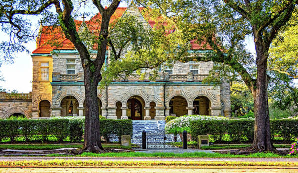 Charles Mansion Photograph - Sweet Home New Orleans - Arches And Stone by Steve Harrington