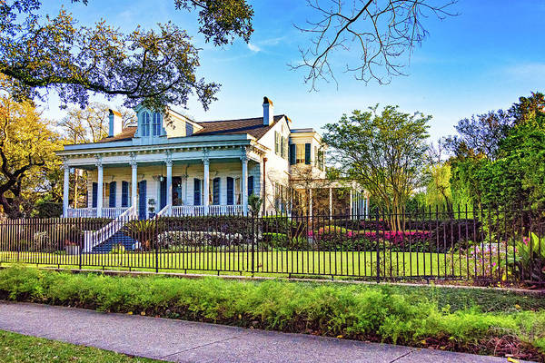 Charles Mansion Photograph - Sweet Home New Orleans - Spring Garden 2 by Steve Harrington