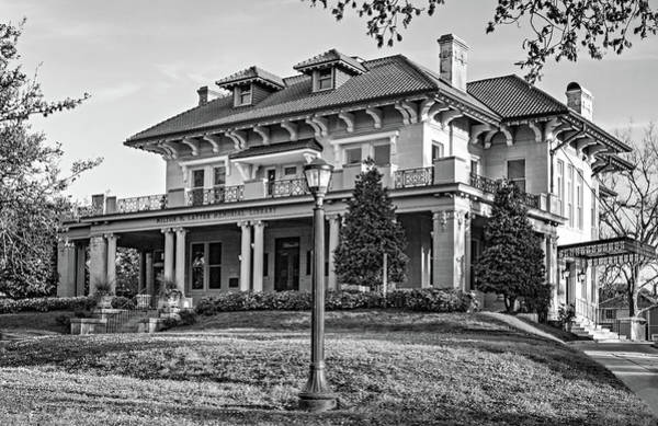 Charles Mansion Photograph - Sweet Home New Orleans - The Library Bw by Steve Harrington