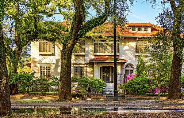 Charles Mansion Photograph - Sweet Home New Orleans - Walking The Dogs by Steve Harrington