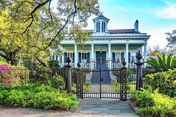 Charles Mansion Photograph - Sweet Home New Orleans - Wrought Iron by Steve Harrington