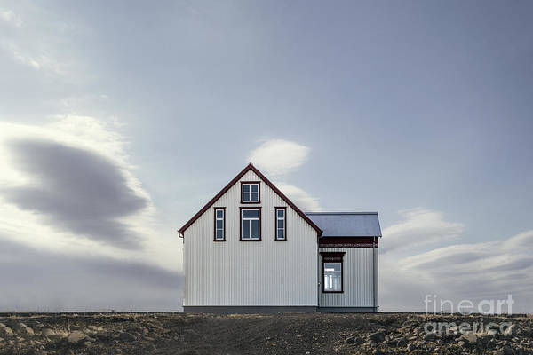 Wall Art - Photograph - Sweet House Under A White Cloud by Evelina Kremsdorf