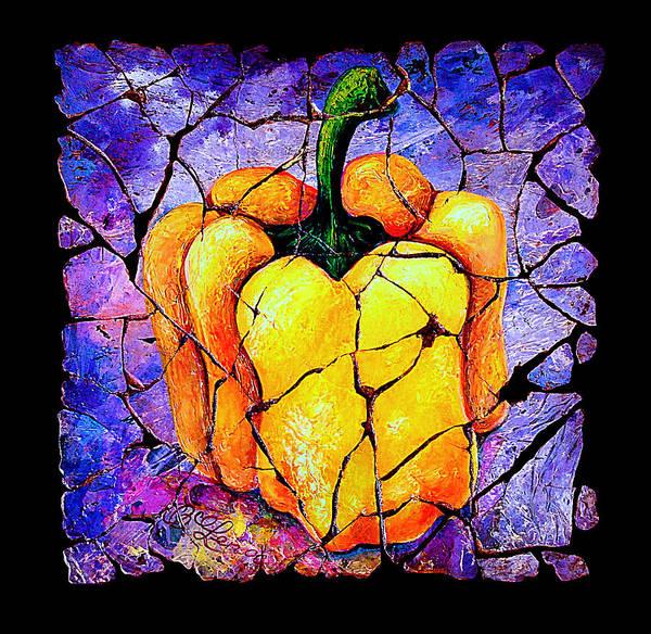Painting - Sweet Pepper by OLena Art - Lena Owens