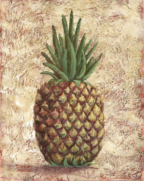 Painting - Sweet Pineapple by Darice Machel McGuire