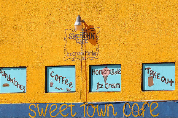 Photograph - Sweet Town Cafe by Dart and Suze Humeston