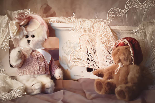 Wall Art - Photograph - Sweetheart Teddies by Camille Lopez