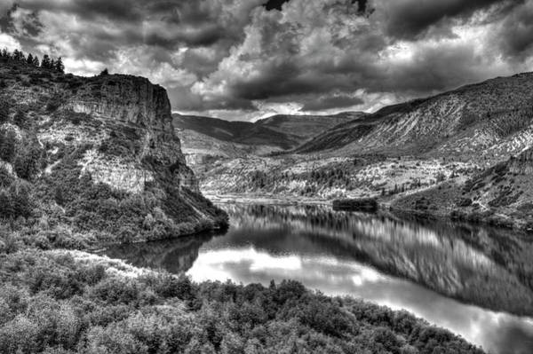 Photograph - Sweetwater Lake 2 Bw by Dimitry Papkov