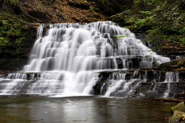 Photograph - Beautiful Waterfall by Christina Rollo