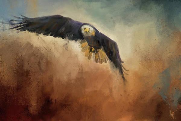 Painting - Swift Approach by Jai Johnson