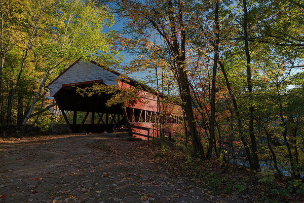 Photograph - Swift River Bridge by Gary Lengyel