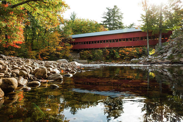 Photograph - Swift River Covered Bridge by Robert Clifford