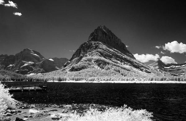 Photograph - Swiftcurrent Lake 5 by Lee Santa