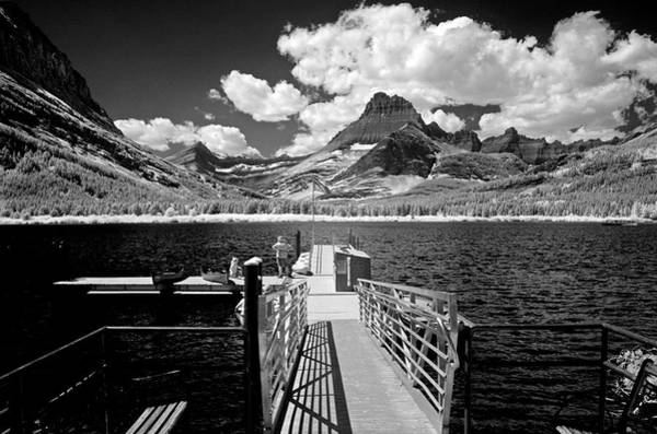 Photograph - Swiftcurrent Lake 6 by Lee Santa