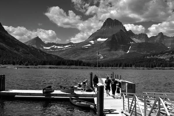 Photograph - Swiftcurrent Lake 2 by Lee Santa
