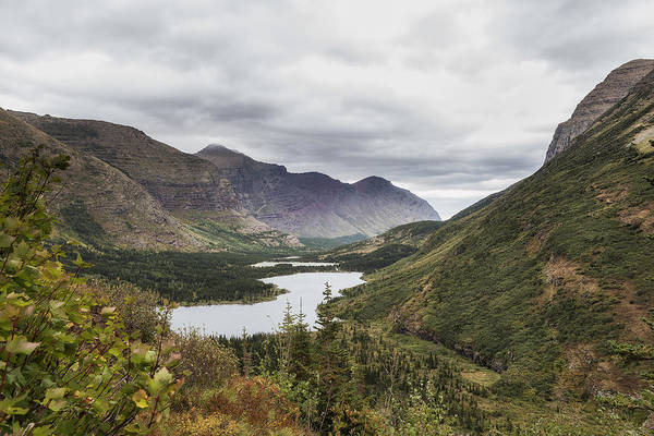 Photograph - Swiftcurrent Valley - Glacier Np by Belinda Greb