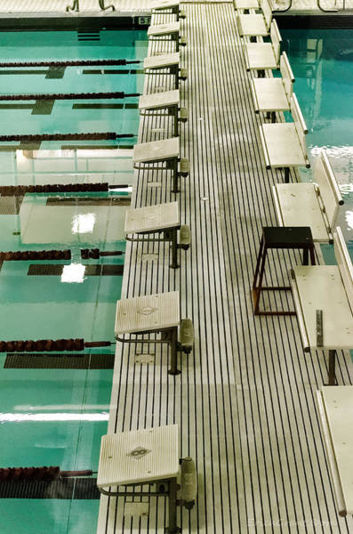 Olympic Club Photograph - Swim Lanes by Erich Grant