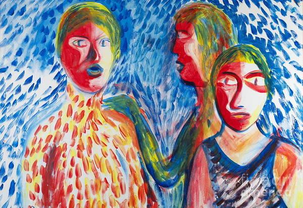 Painting - Swim Time by Walt Brodis