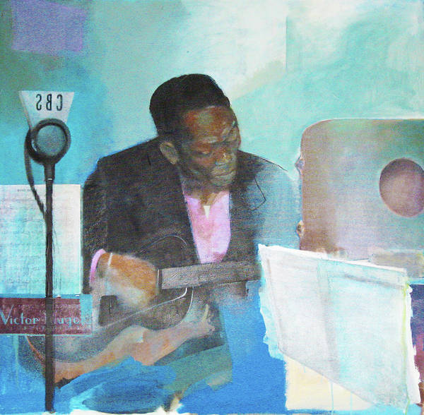 Benny Painting - Swing Beckons Charlie Charlie Christian by Johnny Bull