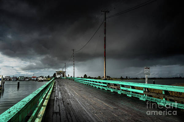 Photograph - Swing Bridge by M G Whittingham