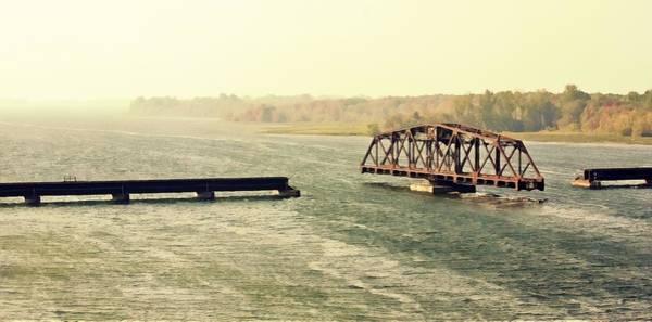 Photograph - Swing Bridge by Tatiana Travelways