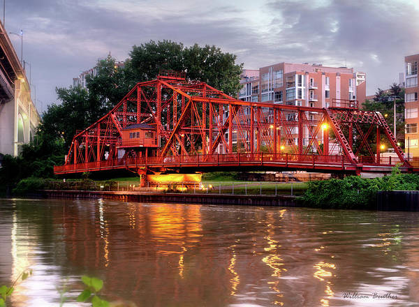 Photograph - Swing Bridge by William Beuther