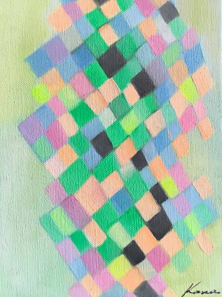 Contemporary Painting -   Swing  by Kanako Kumamaru