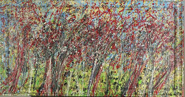 Swing Trees  Art Print