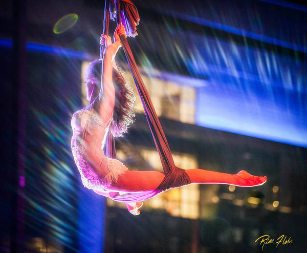 Photograph - Swinging Figure by Rikk Flohr