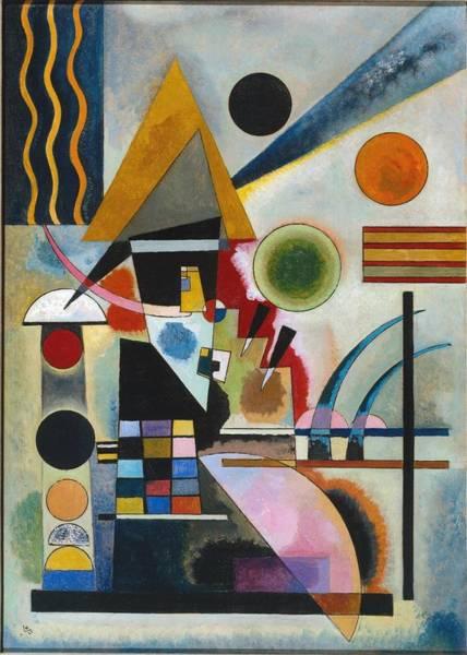 Wassily Kandinsky Painting - Swinging Schaukeln by Wassily Kandinsky
