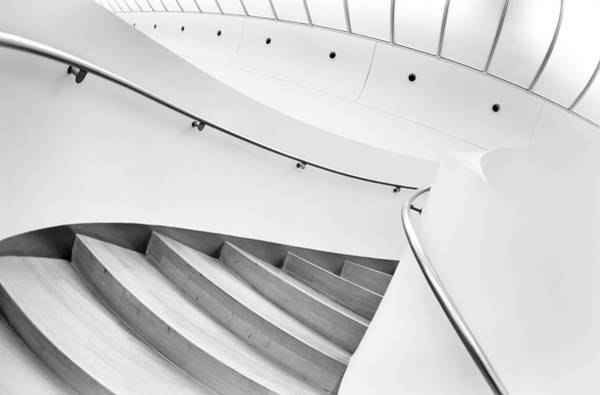 Staircase Wall Art - Photograph - Swinging Staircase by Gerard Jonkman