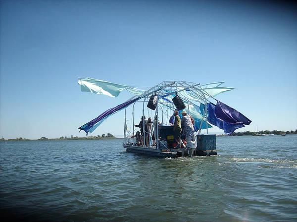 Digital Art - Swings N Sails by Joseph Coulombe